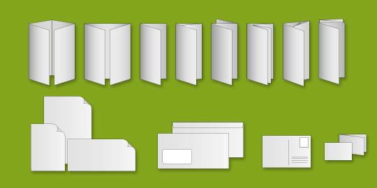 Das richtige Datenformat und Satzspiegel für ein optimales Druckergebnis.