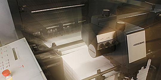 Druckmaschinen von Appl Druck Pforzheim von Heidelberger Druckmaschinen