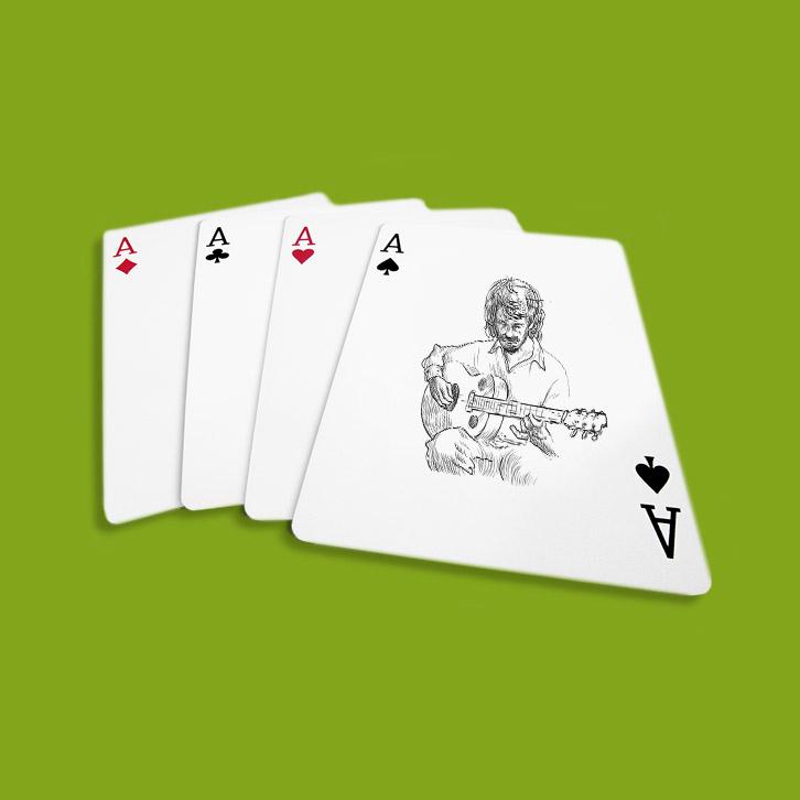Wir drucken auch Spielkarten in Pforzheim und Enzkreis in Digitaldruck und Offsetdruck.